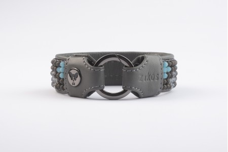 Cross Choker - City Gray