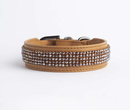 Flou Collar -  Glossy Toffe