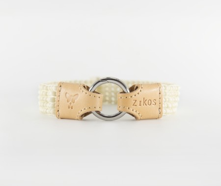 Flou Necklace - Bone