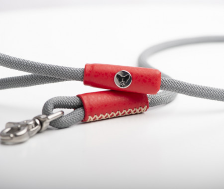 Red With Grey  Lead