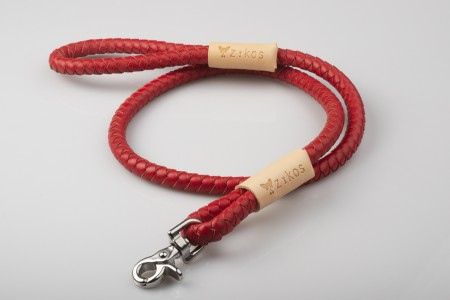 Total Red & Natural Leather Lead