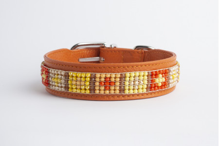 Maira Collar - Orange Surprise