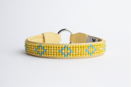 Roxie Choker - Lemon Blue