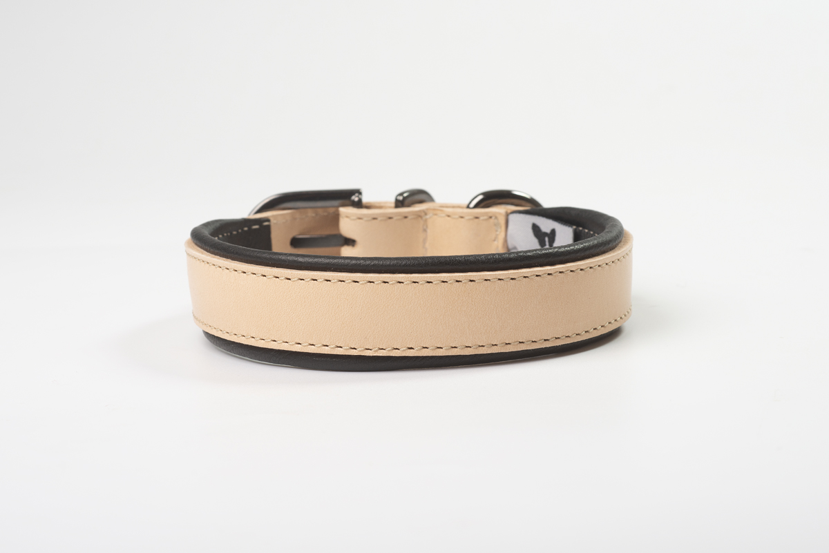 Total Leather Collar - Black