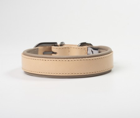 Total Leather Collar - Mocha