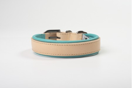 Total Leather Collar - Turquoise