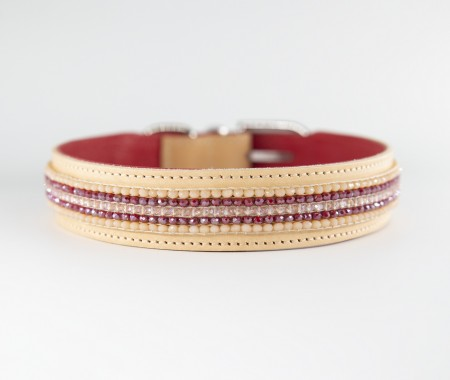 Pocket Collar - Hibiscus